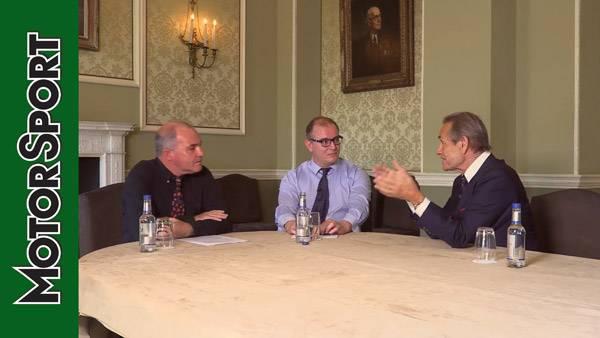 Royal Automobile Club Talk Show with Motor Sport: Jacky Ickx