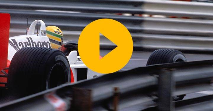 Senna's Monaco 1988 qualifying lap reimagined