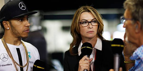Suzi Perry on hosting the Hall of Fame