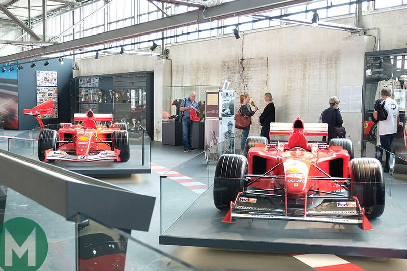 Michael Schumacher exhibition opens