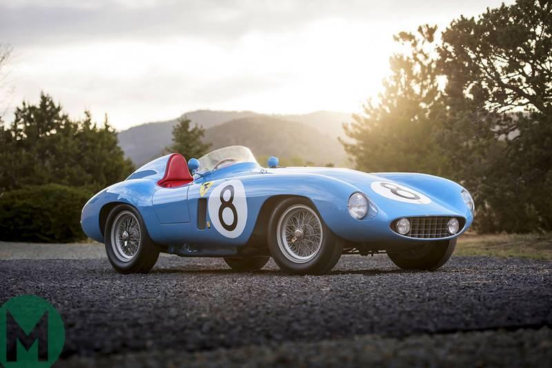 Something blue: ex-Grand Prix racing Ferrari 500 Mondial
