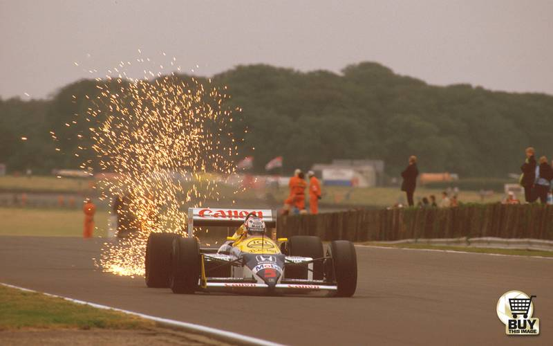 'Refusing to accept defeat' – 1987 British GP