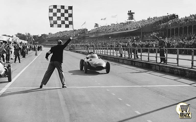 '10 exhausting laps': the 1957 British GP