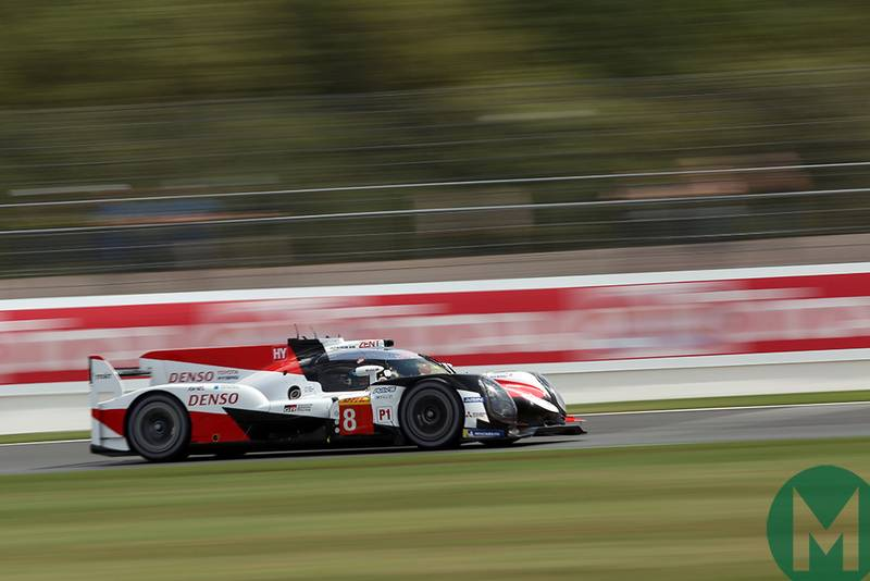No letting up for Toyota in WEC