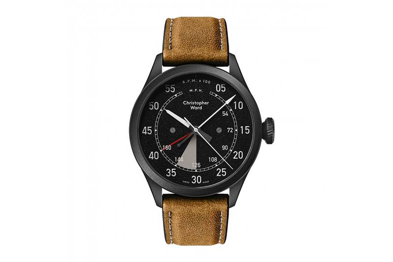 This watch contains a piece of the Bentley Blower