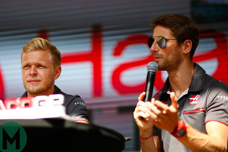 Grosjean and Magnussen to remain at Haas F1 for 2019
