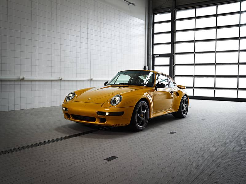 Going for gold: Porsche 70th Anniversary Sale