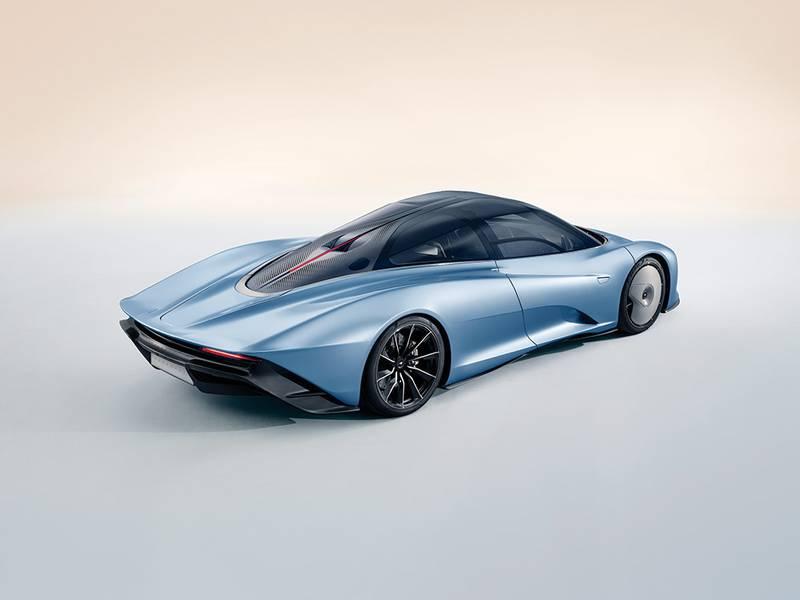 Speedtail: McLaren reveals 250mph F1 successor