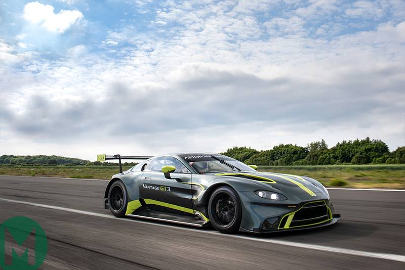 Aston Martin Vantage GT3 to make debut