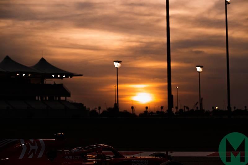 F1 Abu Dhabi tyre testing results