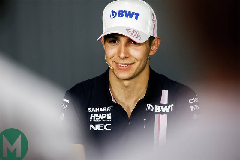 Ocon to be Mercedes reserve in 2019