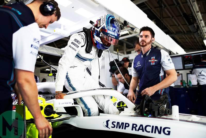 Sirotkin sponsor slams Williams F1