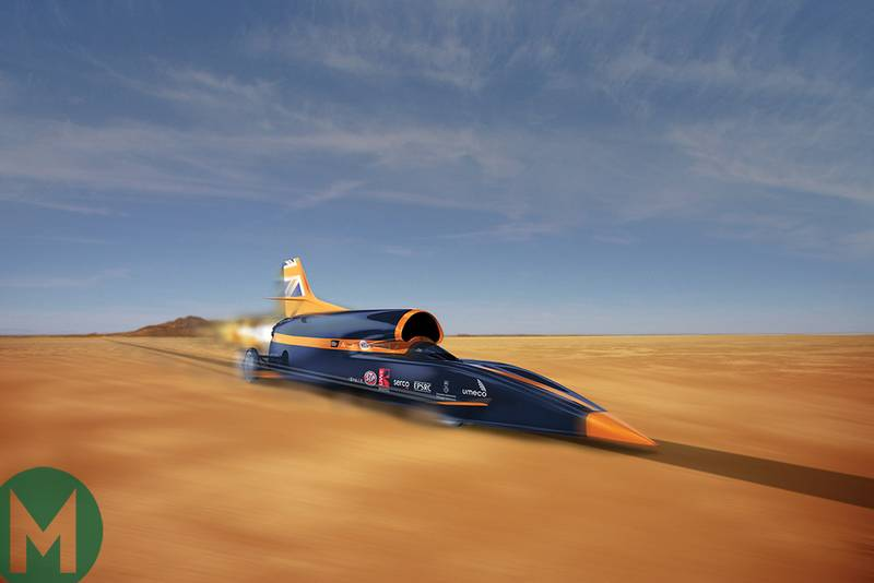 Bloodhound SSC's difficult decade