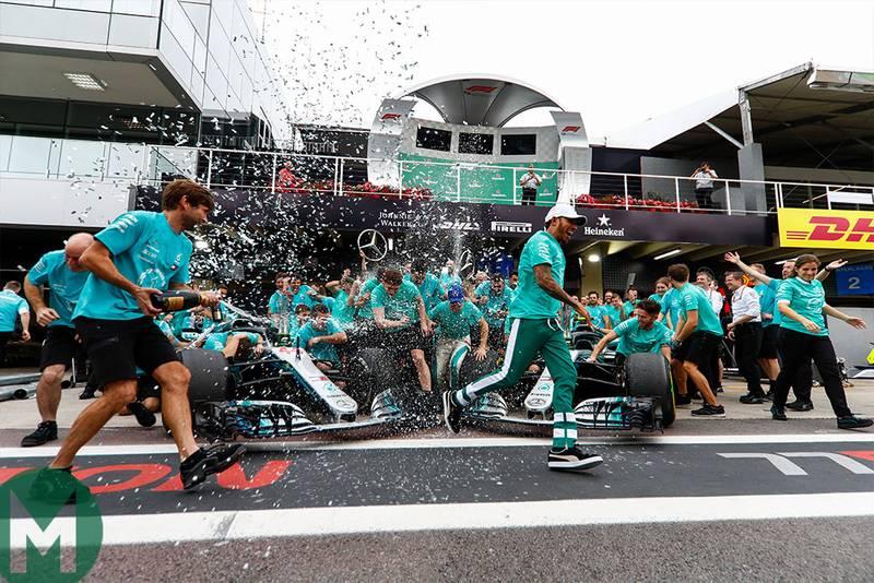 Mercedes' make-or-break strategy calls