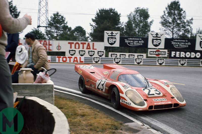 The Porsche 917: a monument to heroism