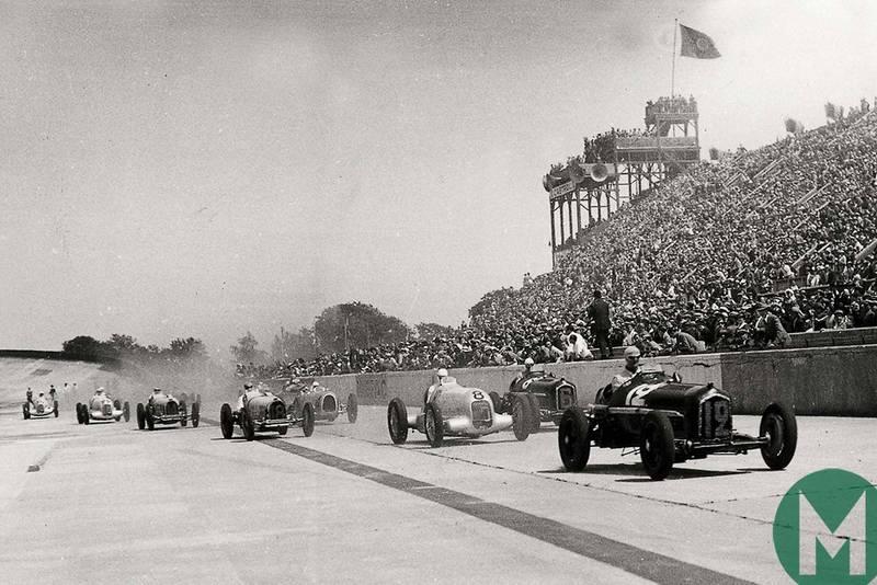 The original Merc vs Alfa grand prix battle