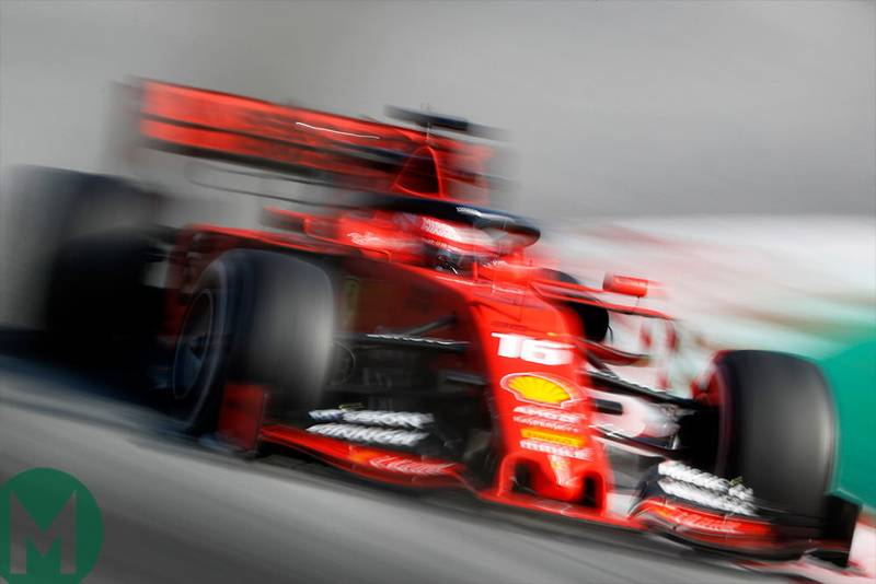 Ferrari returns to the top in second F1 test