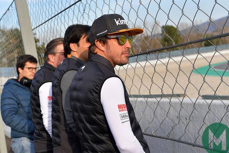 Alonso to support McLaren F1 car development