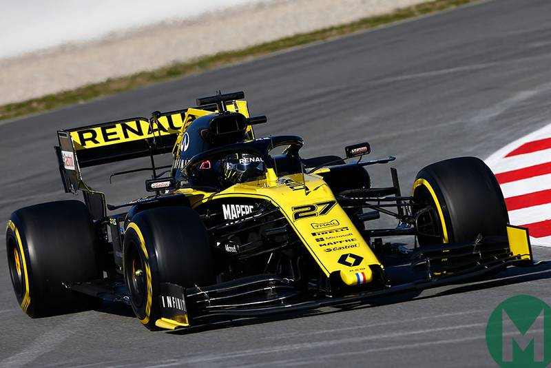 Hülkenberg tops the final day of F1's opening test