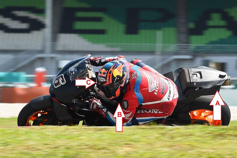 Honda's MotoGP bento box
