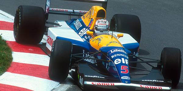 Williams FW14B to go on display at the Hall of Fame