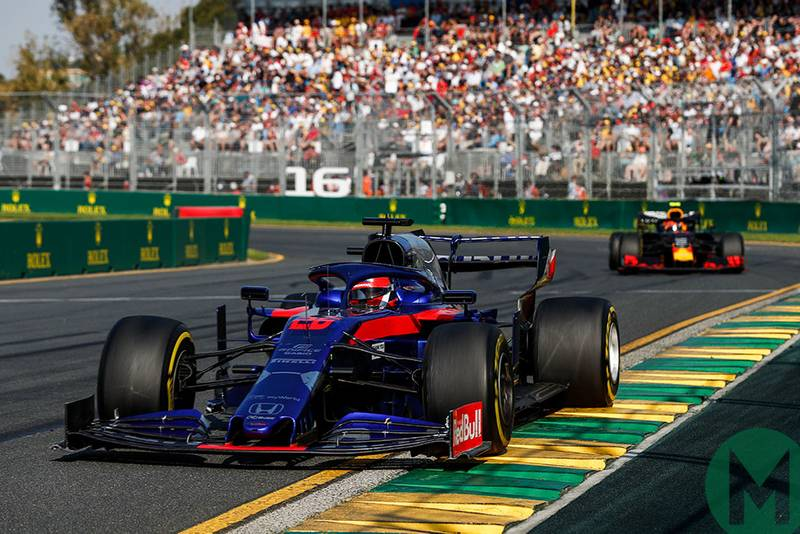 MPH: Comparing team-mates at the Australian F1 GP