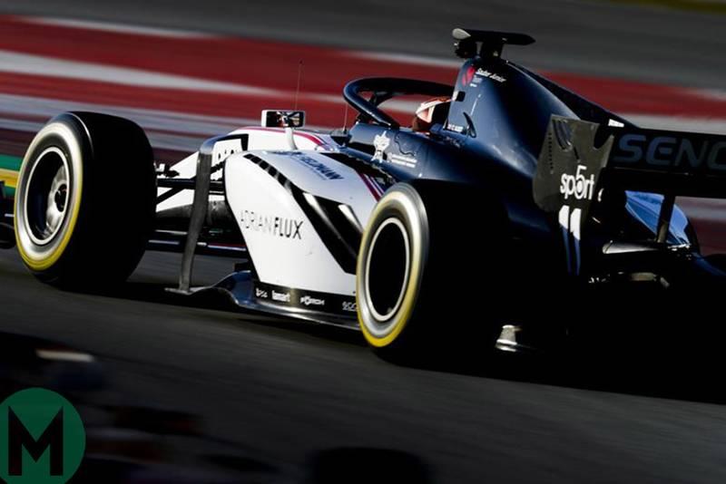 The 2019 Formula 2 grid
