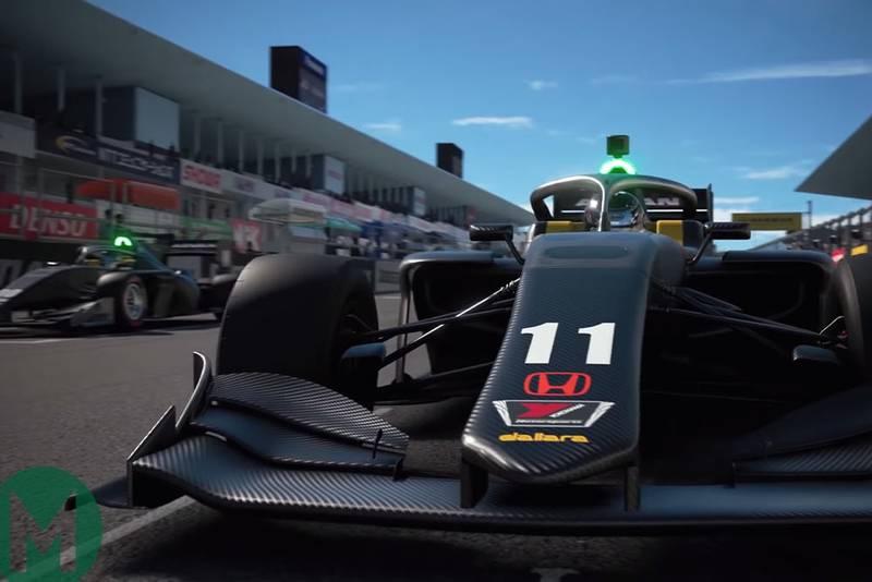 GT Sport to add 2019 Super Formula car