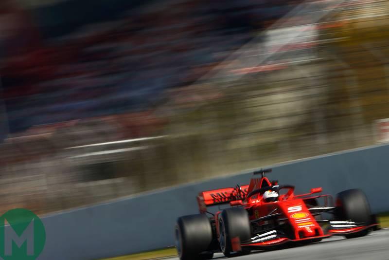 Ferrari pips Mercedes as 2019 F1 preseason testing ends