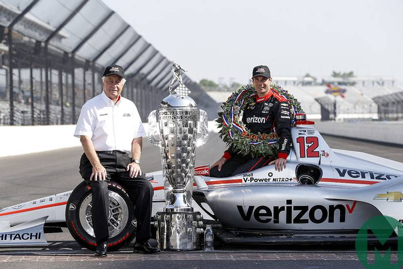 "Watch Will Power on Penske's ""perfect race"""
