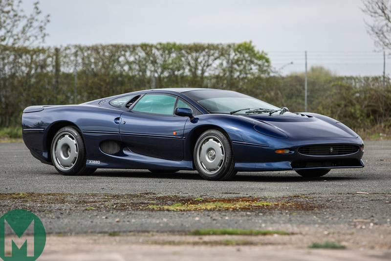 For sale: a prowling pair of XJ220s