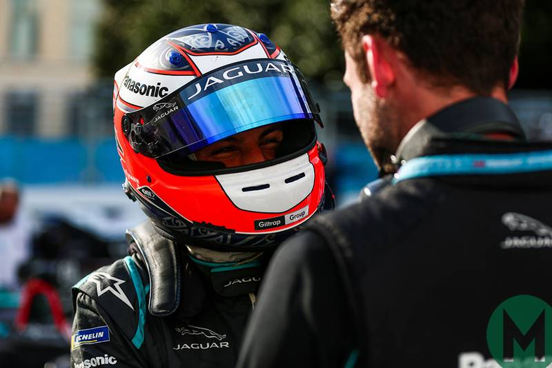 Evans takes Jaguar's first Formula E win in Rome ePrix