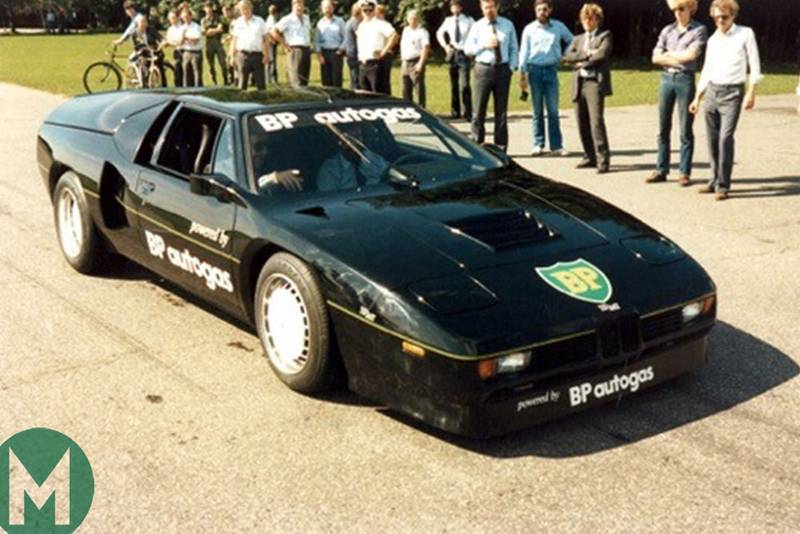 The land speed record-breaking BMW M1
