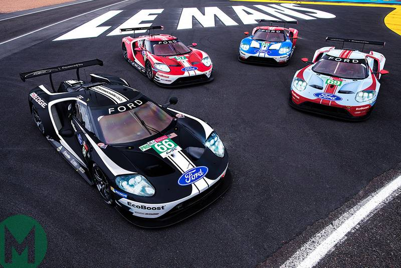 Ford unveils throwback liveries for 2019 Le Mans 24 Hours
