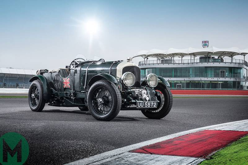 Watch: Bentley's 100 celebrated at Silverstone