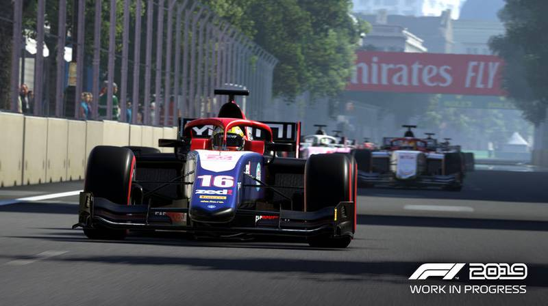 F2 confirmed for F1 2019 game, new trailer released