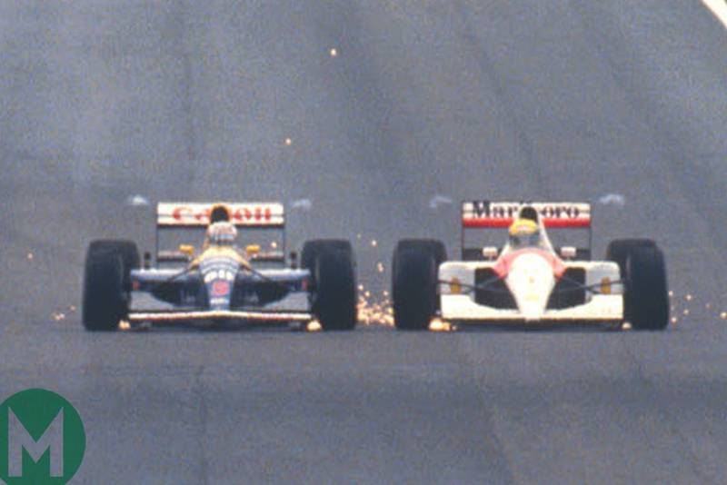 When the sparks flew in Spain: Mansell vs Senna in 1991