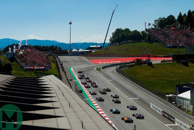 2019 Formula 1 Austrian Grand Prix — race results