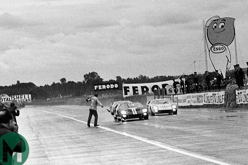 Foul play in Ford's 1966 Le Mans 24 Hour photo finish? 'Yanks at Le Mans' extract