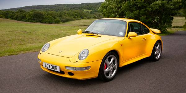For auction: 1997 Porsche 993 Turbo | Sponsored