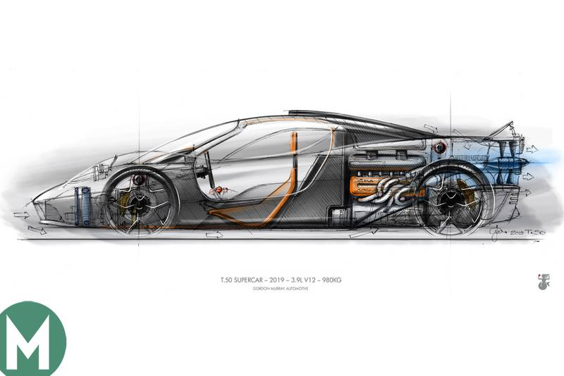Gordon Murray's T.50: £2m McLaren F1 successor