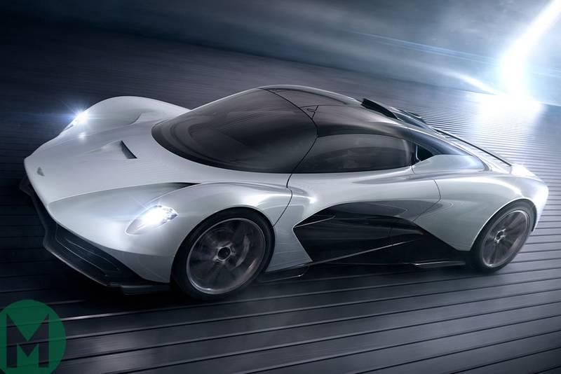 Third Aston Martin-Red Bull hypercar announced, called 'Valhalla'