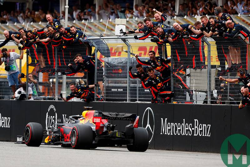 2019 German Grand Prix race report — Verstappen stars after Mercedes meltdown