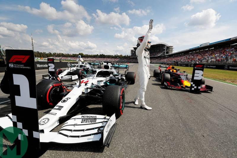 2019 German Grand Prix qualifying report: ill Hamilton still top
