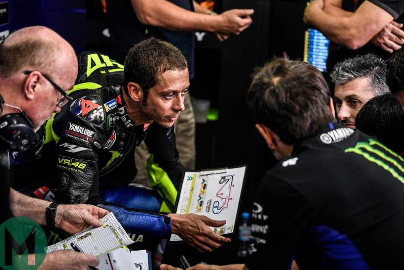 Is Valentino Rossi slow? The numbers say no. More from the Dutch TT