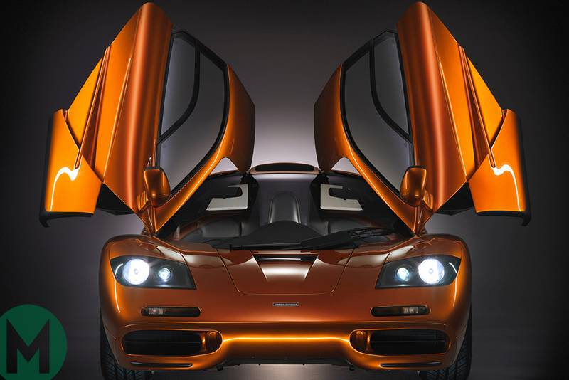 Gordon Murray: I designed the McLaren F1 in my head