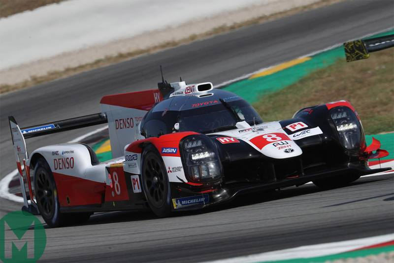 Toyota hit with new 14kg weight penalty for 2019/20 WEC season