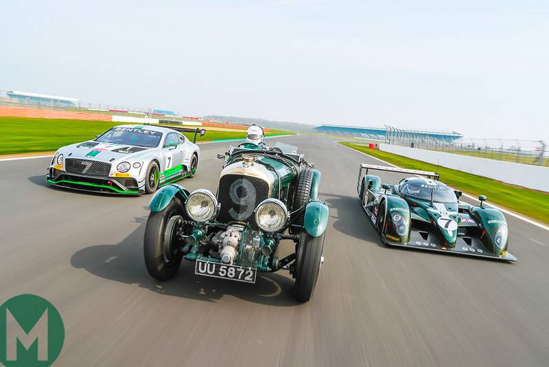 Bentley's racing history: three generations of sports cars in pictures