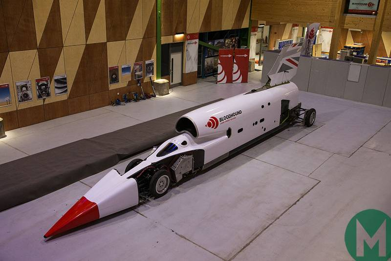 Bloodhound land speed record attempt set for 500mph test in South Africa
