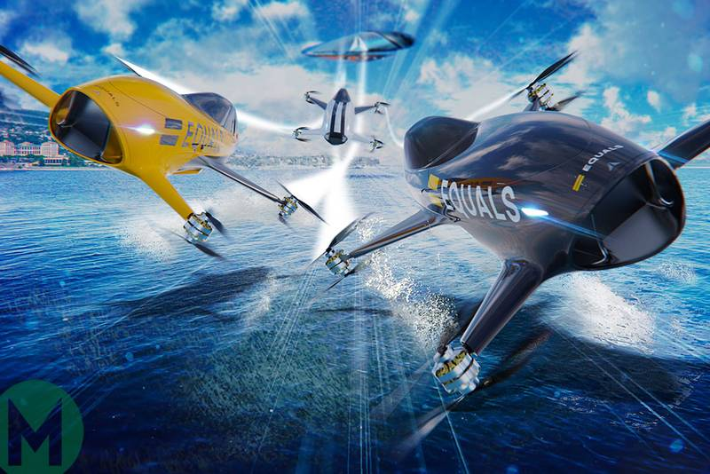 Airspeeder flying racing series aims to be 'F1 of the skies'